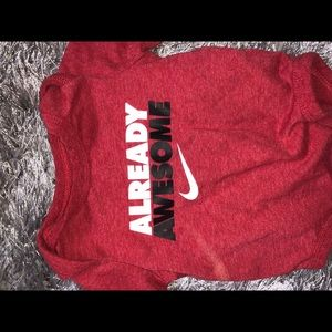 Nike Other - Nike baby boy onesie!